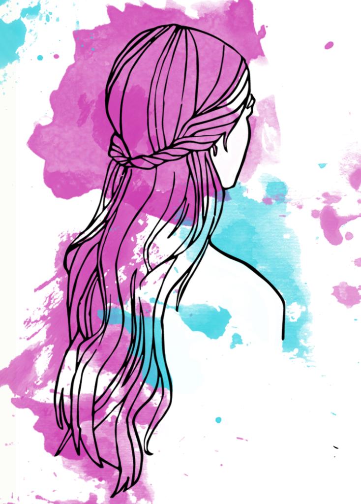 half-updo, summer hairstyle