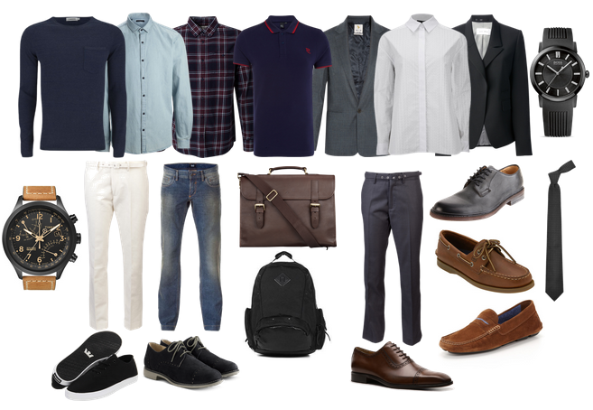 job interview outfit for men