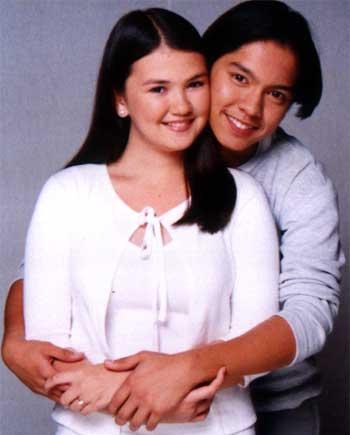 Angelica Panganiban and Carlo Aquino