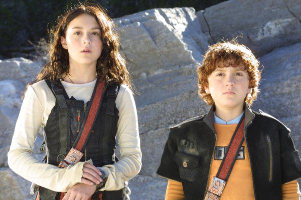 Spy Kids. Sister and younger brother relationship.