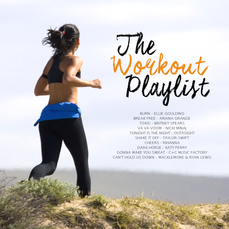 the workout playlist