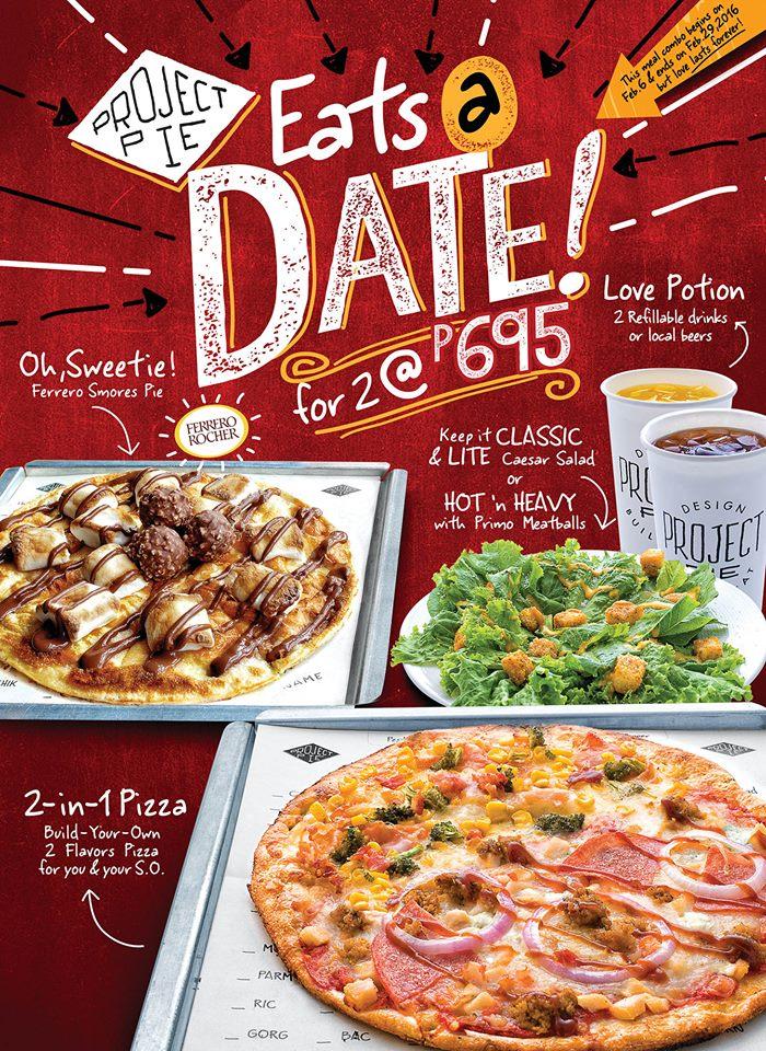 Project Pie - Eats a Date Promo