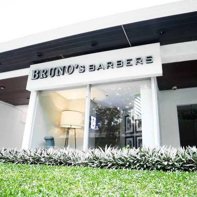 bruno barbershop facade